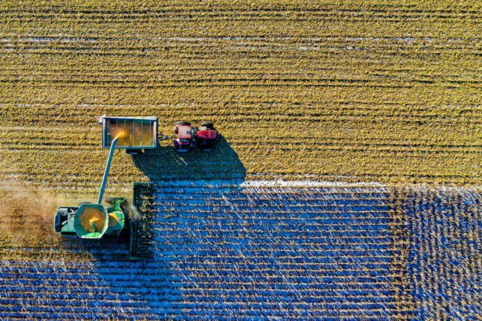 En brugt minilæsser er brugbar i landbruget